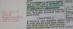 Create Your Own Study Bible Using a Wide Margin Bible