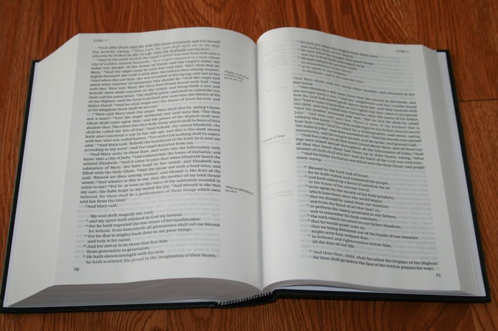 New Cambridge Paragraph Bible Personal Size Kjv