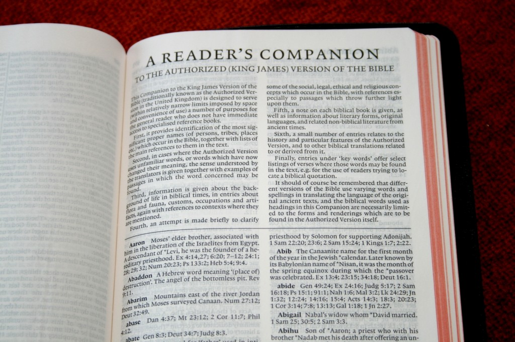Cambridge KJV Pitt Minion Bible 029