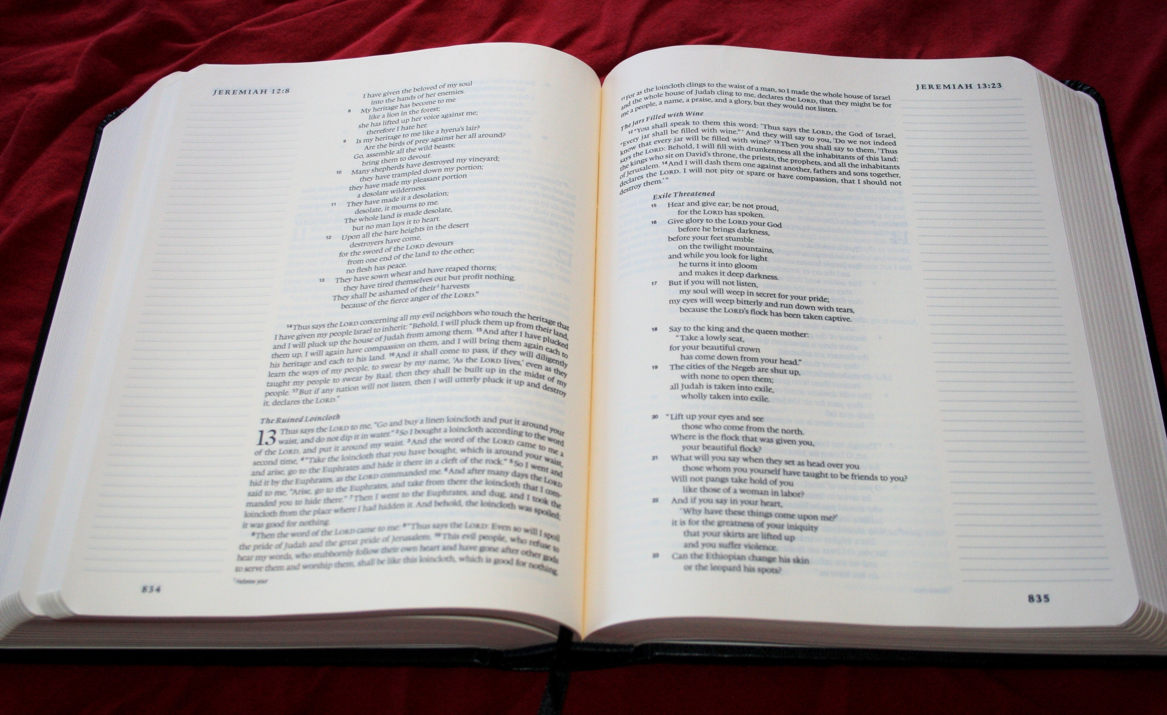 ESV Single Column Reference Bible - Crossway.org