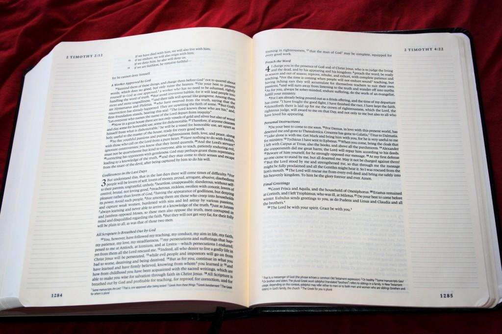 Crossway Esv Single Column Journaling Bible 017 Bible