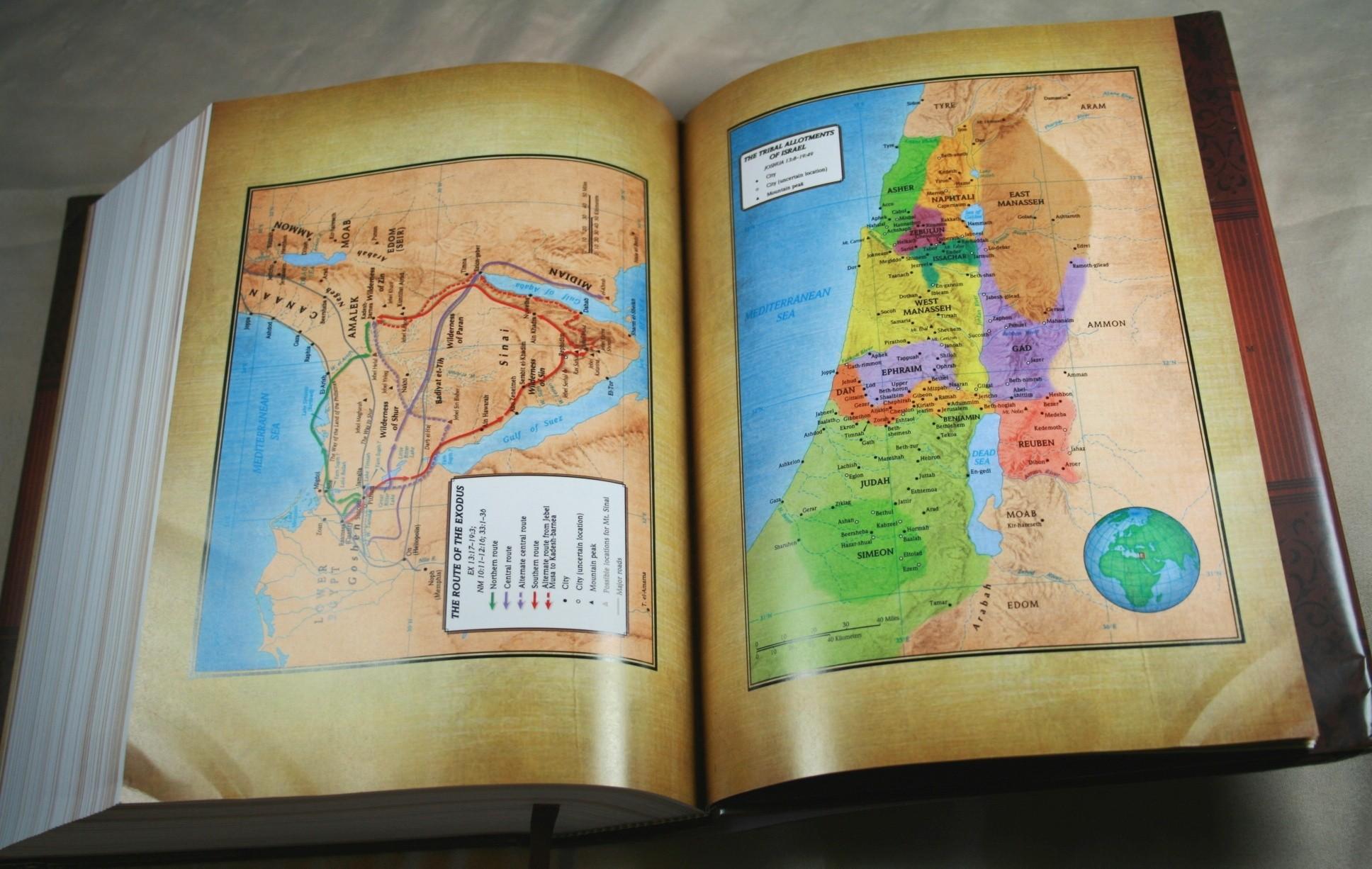 Holman bible atlas study guide