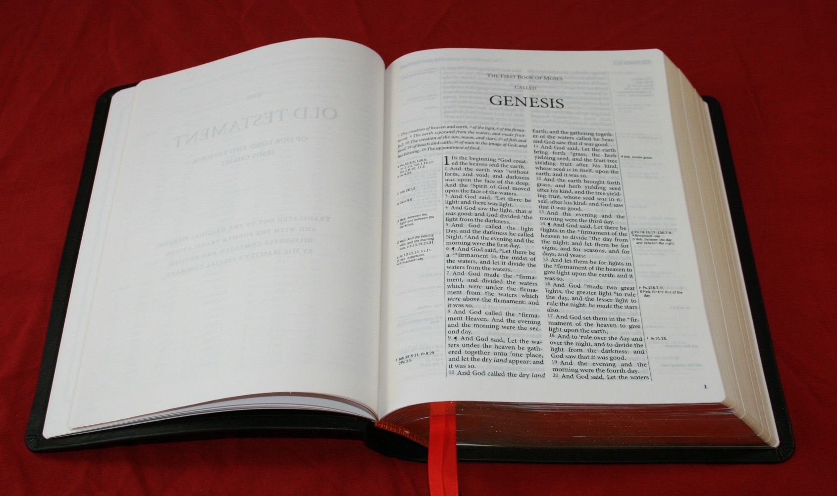 TBS Westminster Reference Bible Review