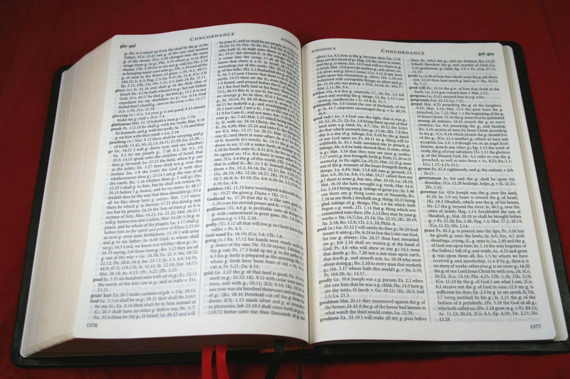 TBS Westminster Reference Bible KJV 016