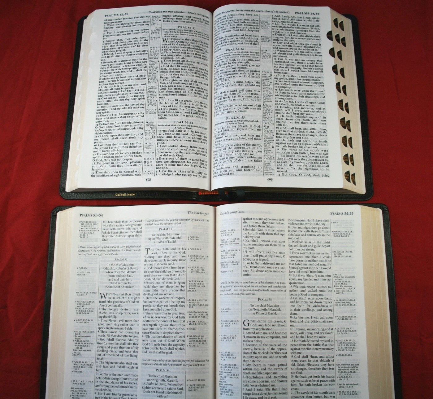 TBS Westminster Reference Bible KJV 026