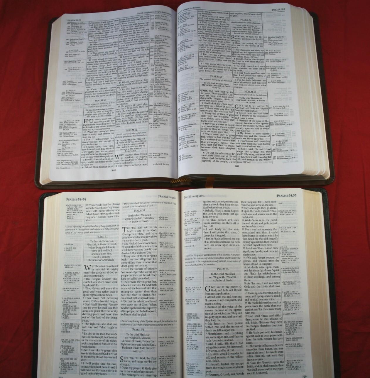 TBS Westminster Reference Bible KJV 033