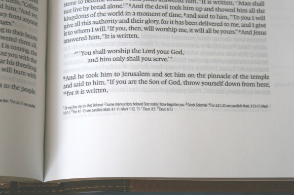 Crossway ESV Single Column Legacy Bible 012