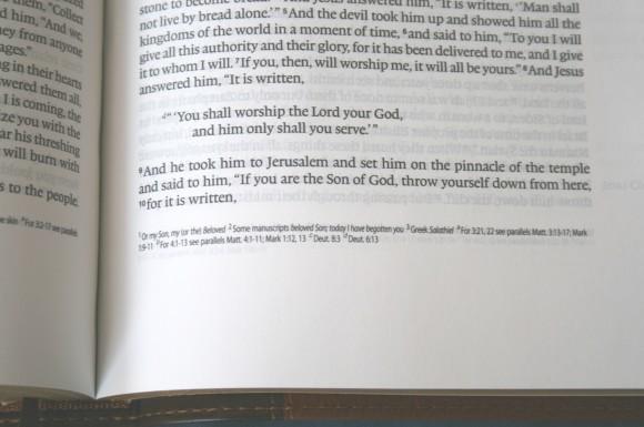 Crossway ESV Single Column Legacy Bible 012