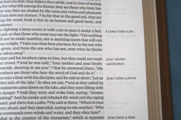 Crossway ESV Single Column Legacy Bible 020