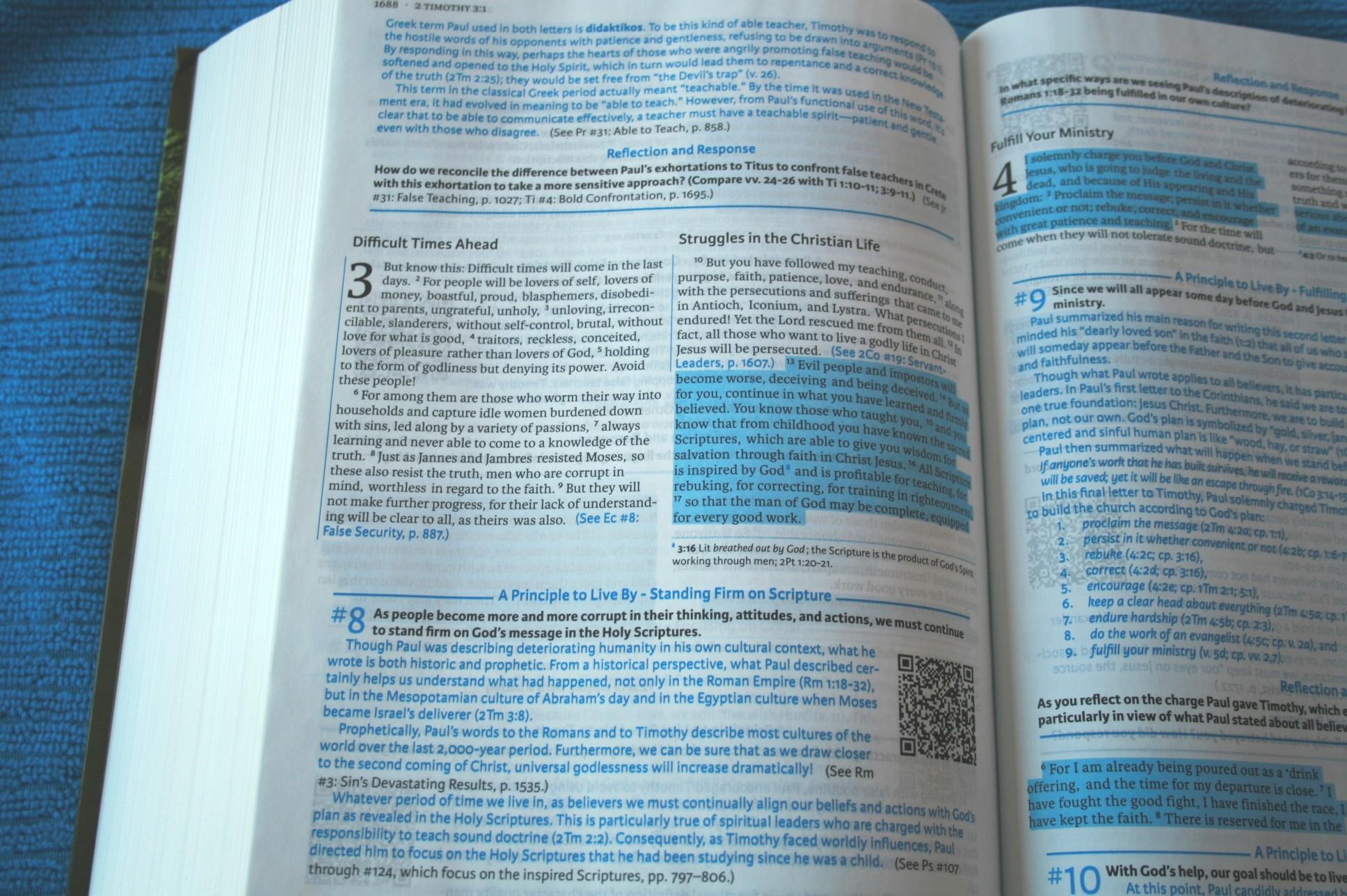New Living Translation NLT - Bible Study Tools