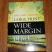 Hendrickson Large Print Wide Margin Bible KJV &#8211; Review
