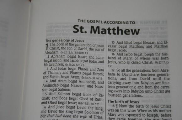Hendrickson Large Print Wide Margin Bible KJV 005