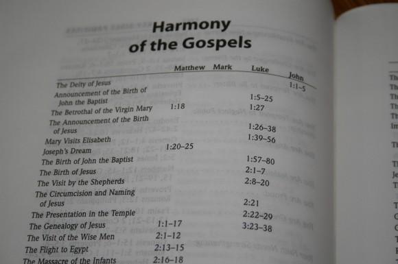 Hendrickson Large Print Wide Margin Bible KJV 012