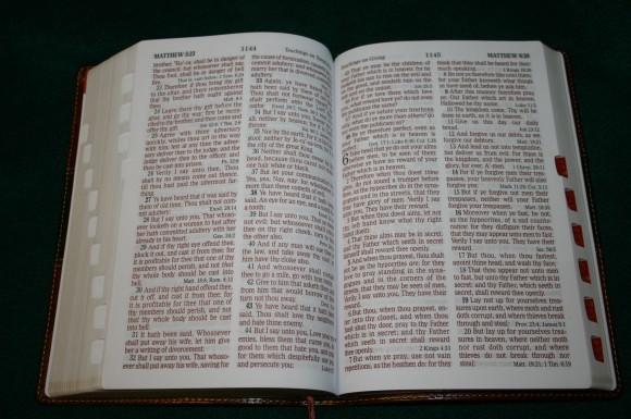 Holman Hand Size Giant Print Reference Bible KJV 047