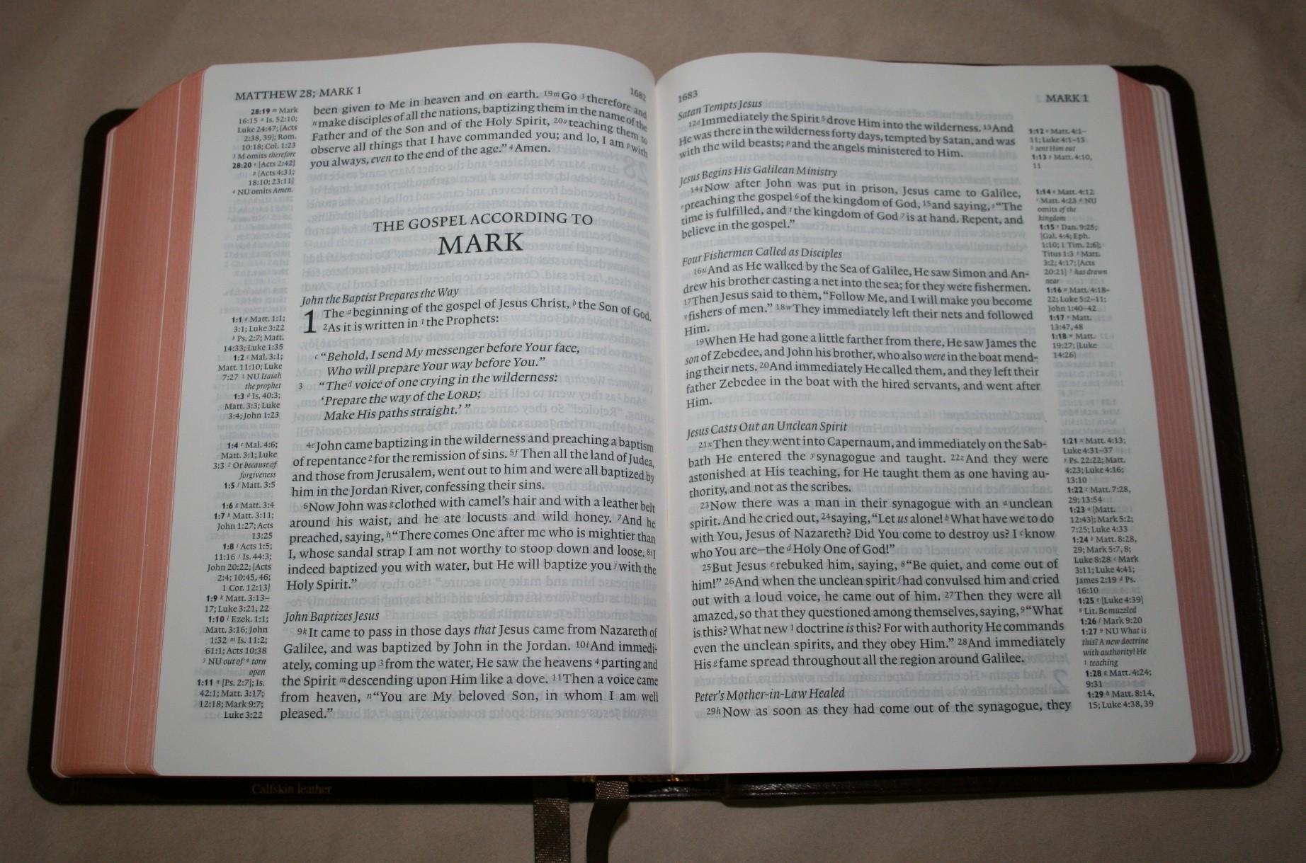 Cambridge Clarion Nkjv Bible Review