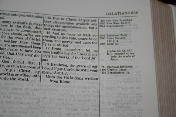 LCBP Thompson Chain Reference Bible 070