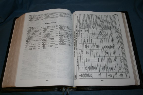 LCBP Thompson Chain Reference Bible 085