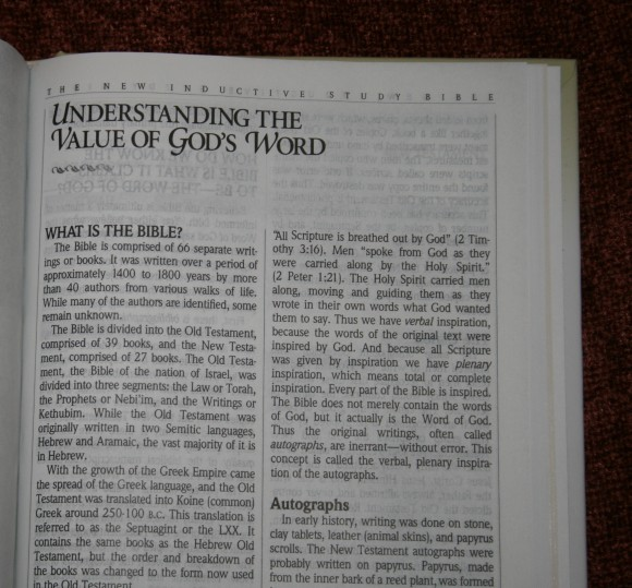 The New Inductive Study Bible ESV 032