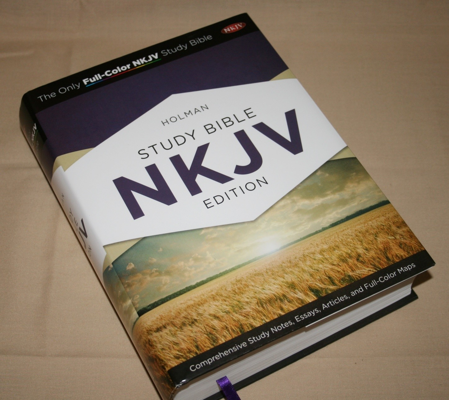 holman nkjv study bible review