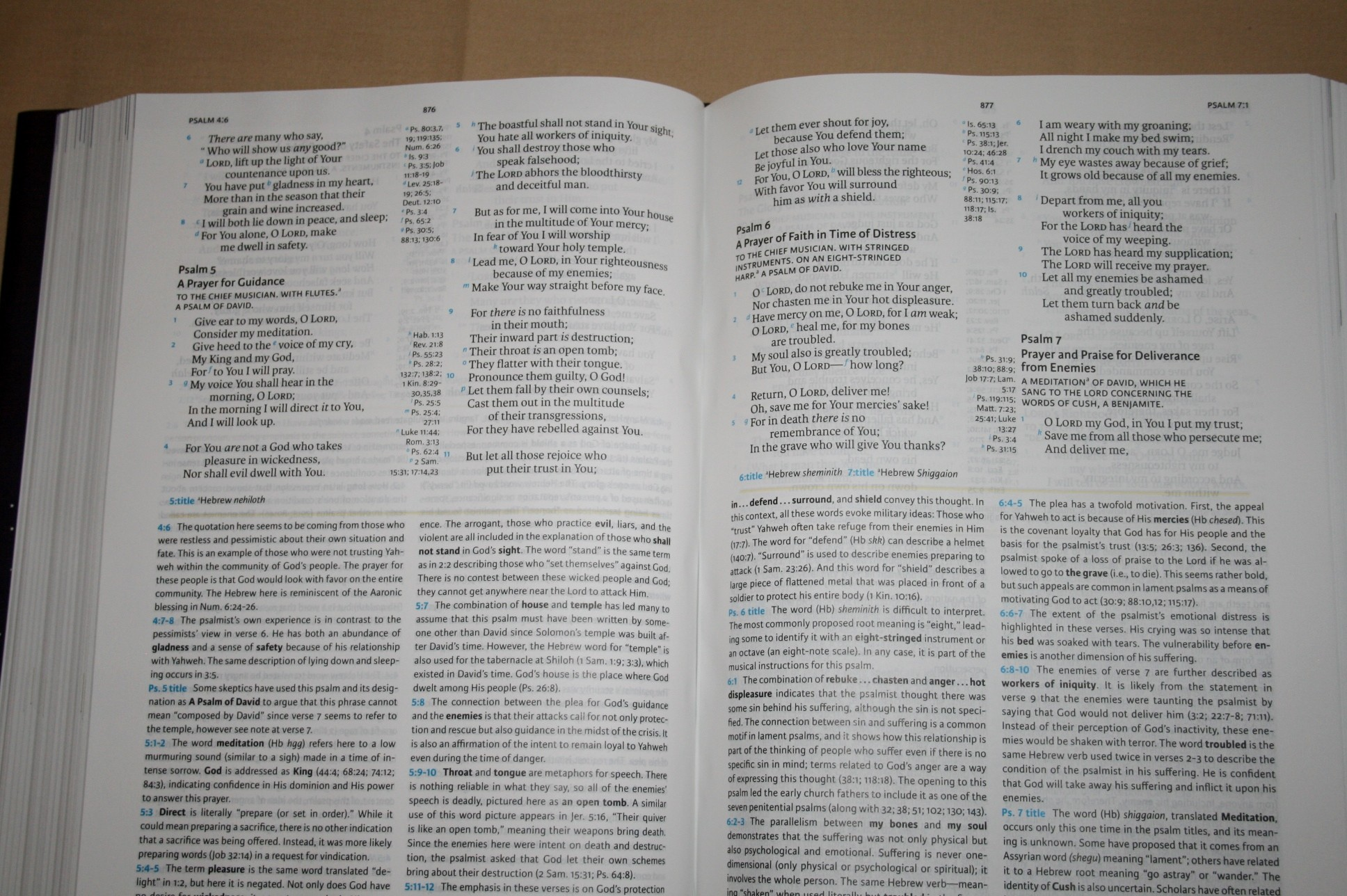 Bible study guide pages