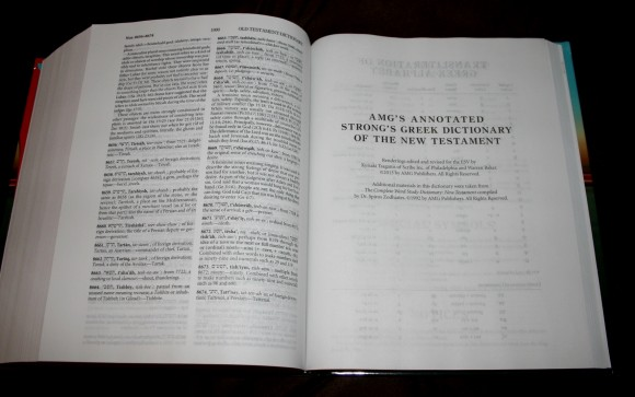 Hebrew-Greek Key Word Study Bible ESV 022