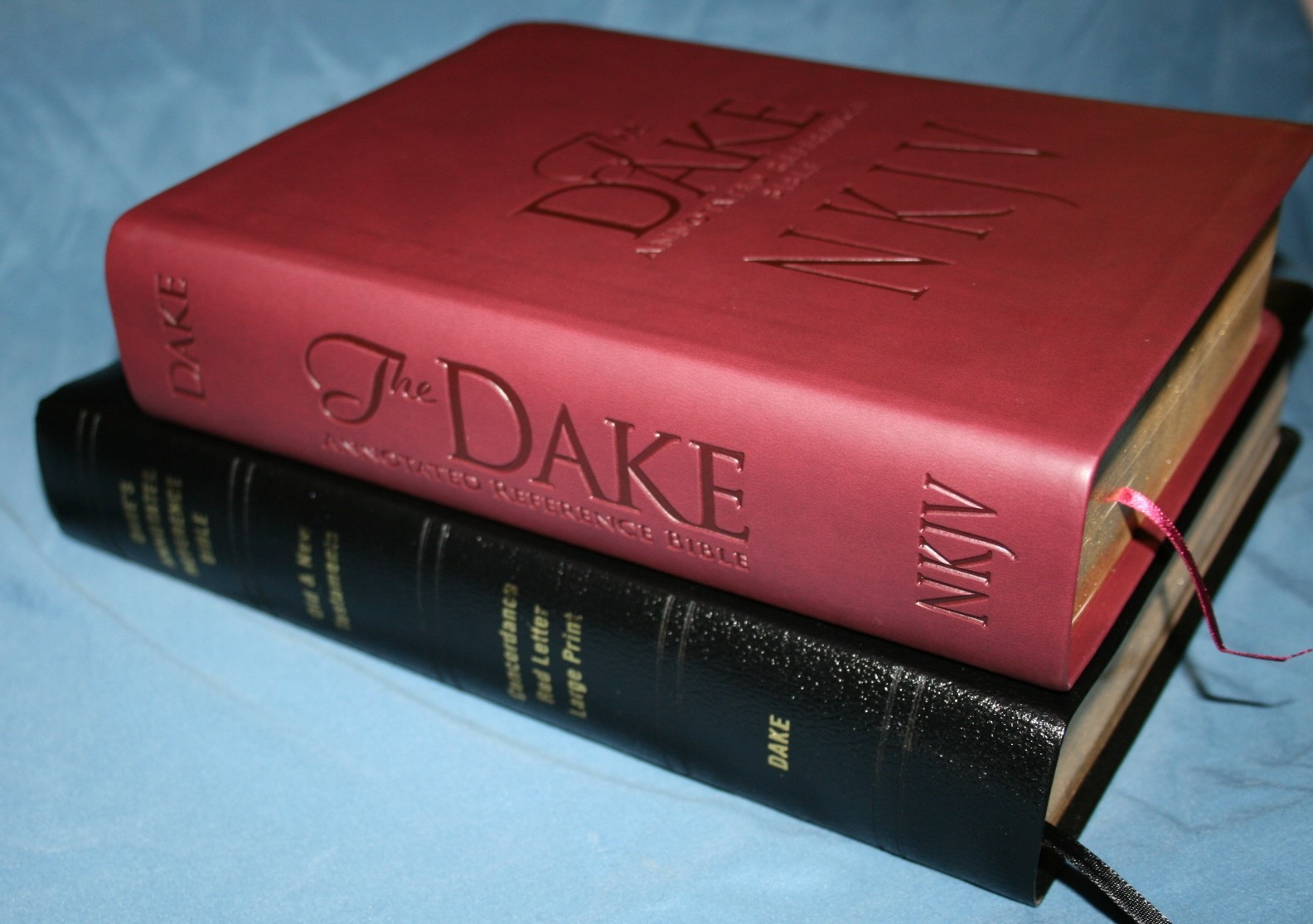 Review Dake's Annotated Study Bible - YouTube