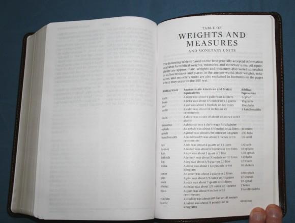 Crossway ESV Large Print Personal Size Bible 018