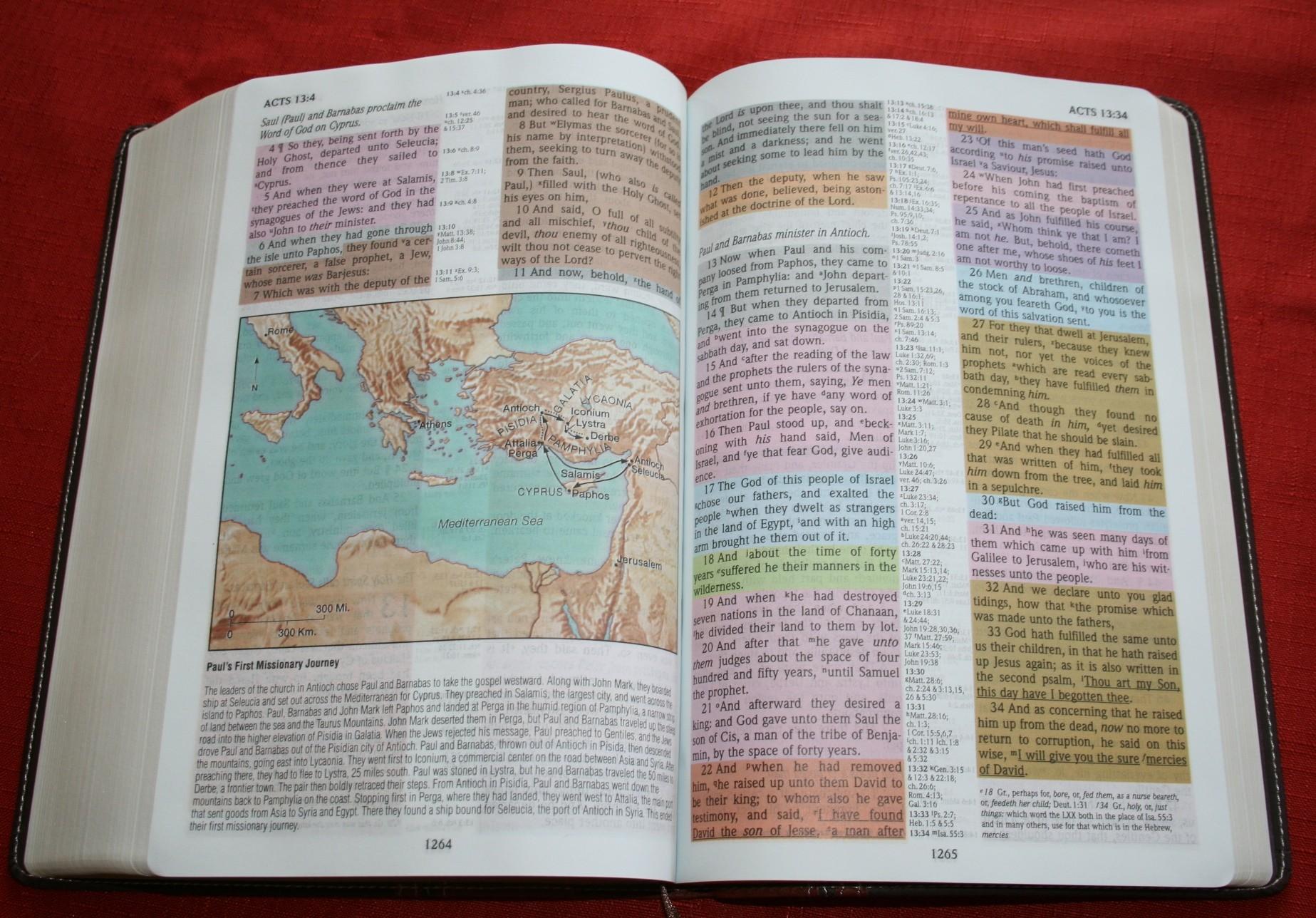 KJV Old Scofield Study Bible - LARGE PRINT - The KJV Store