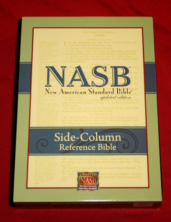 Foundation's Side Column Reference Bible NASB 002