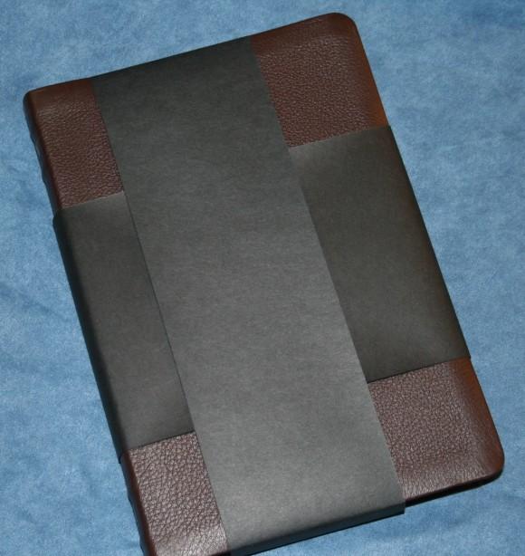 Holman KJV Large Print UltraThin Reference Bible in Brown Genuin 003
