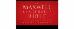 Maxwell Leadership Bible on sale
