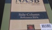 NASB Side Column Wide Margin Reference Bible