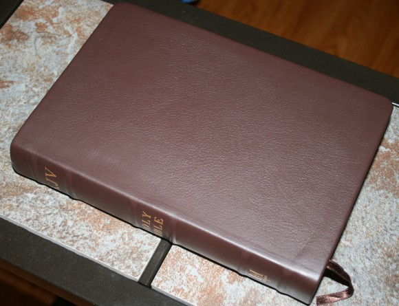 Holman Large Print Personal Size Reference Bible KJV in Brown Co 003