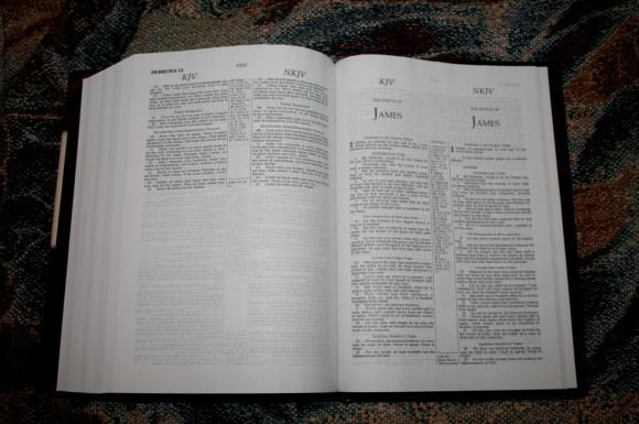 Thomas Nelson KJV NKJV Parallel Bible – Review 013