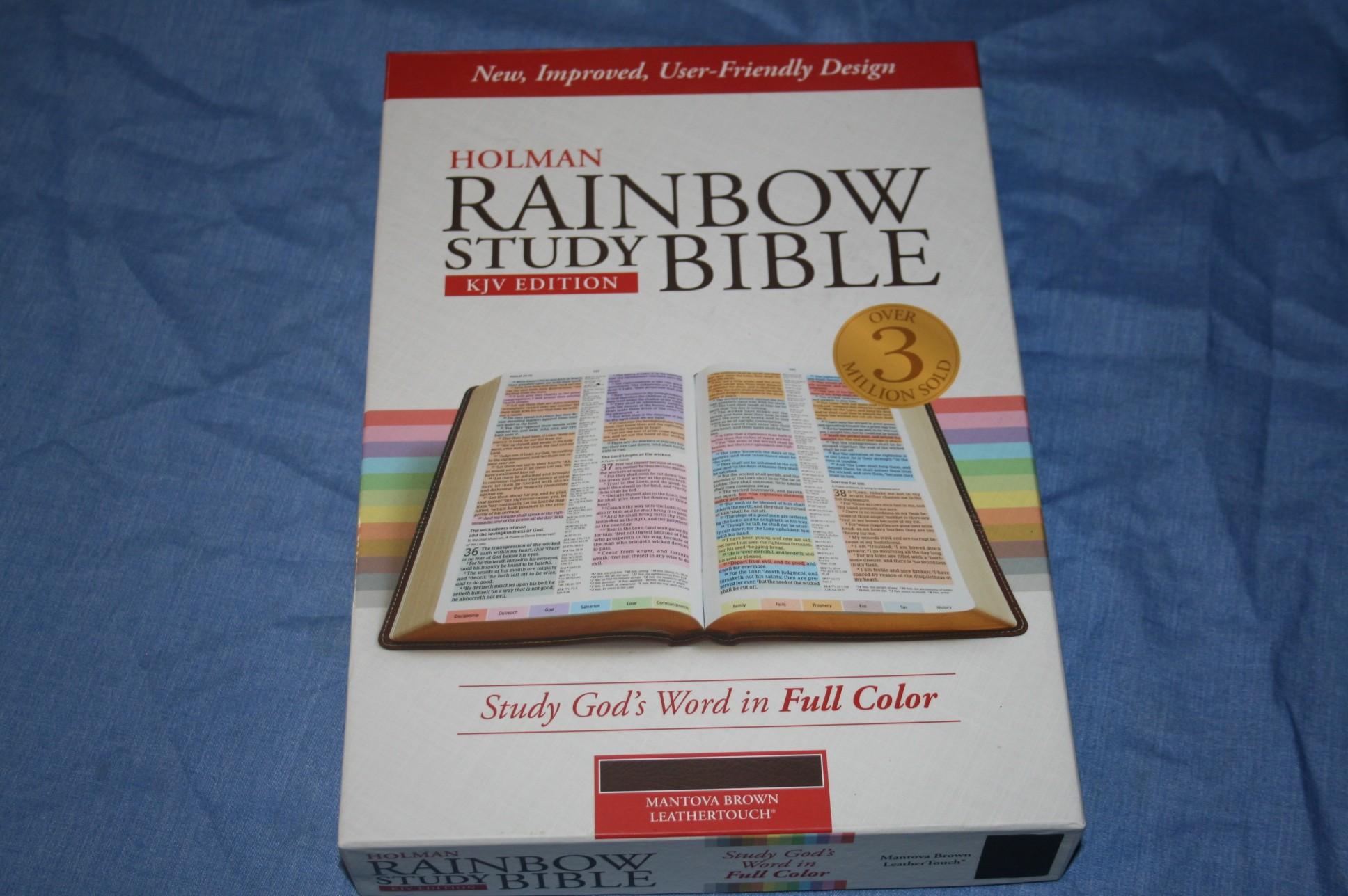 KJV Rainbow Study Bible – Softcover | https ...