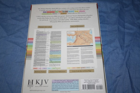 Improved Holman Rainbow Study Bible KJV 005