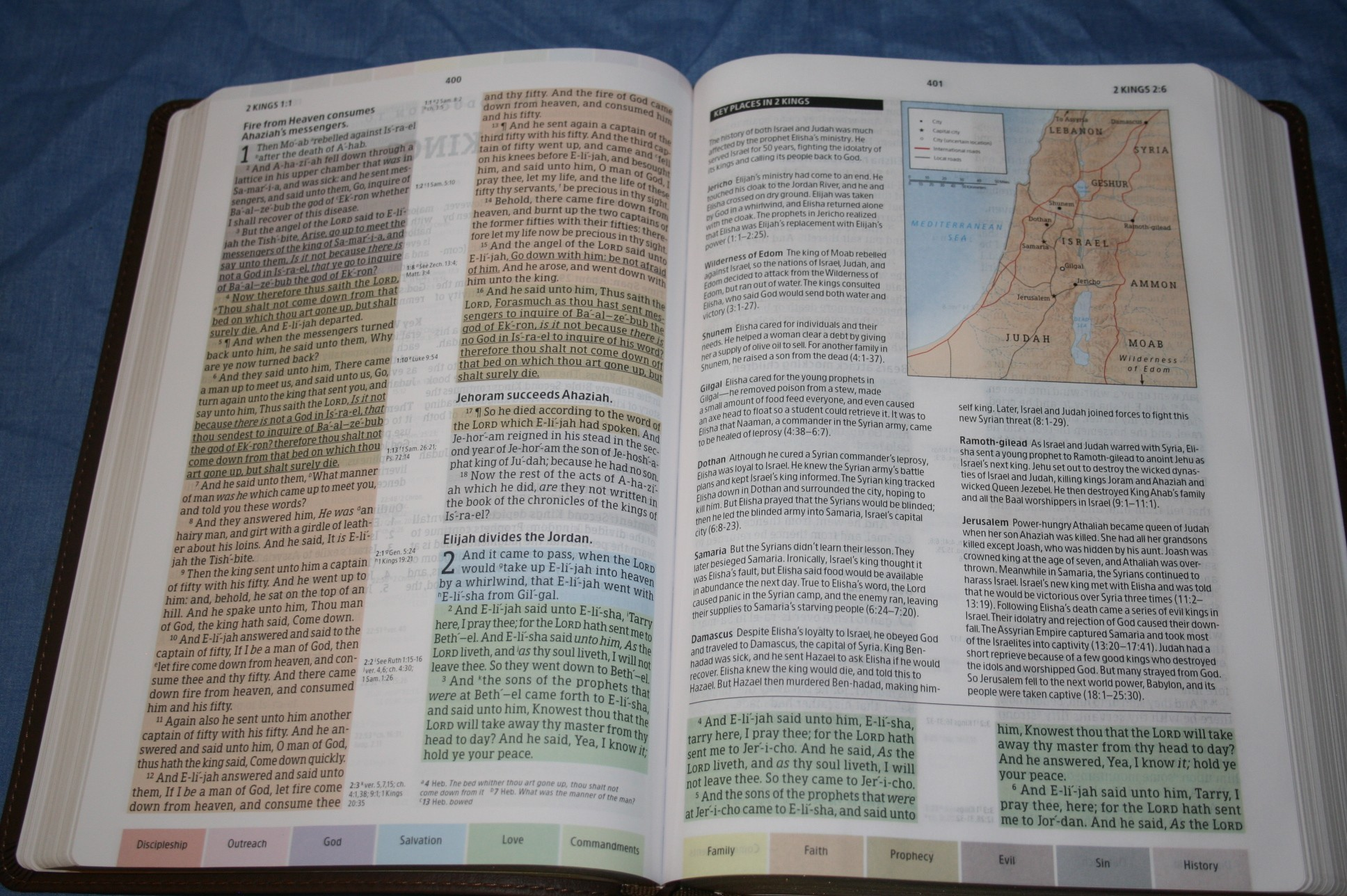 Rainbow Study Bible - Review