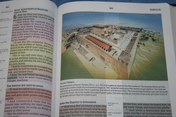 Improved Holman Rainbow Study Bible KJV 020