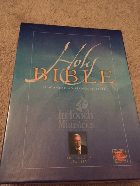 In Touch Ministries Wide Margin Nasb Note Takers Bible