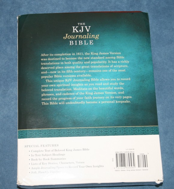 Barbour KJV Journaling Bible (2)