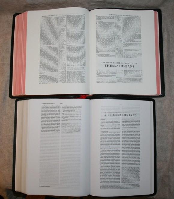 Study bible reviews comparisons