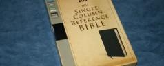 The Bible Exchange – Zondervan's NIV Single Column Reference Bible
