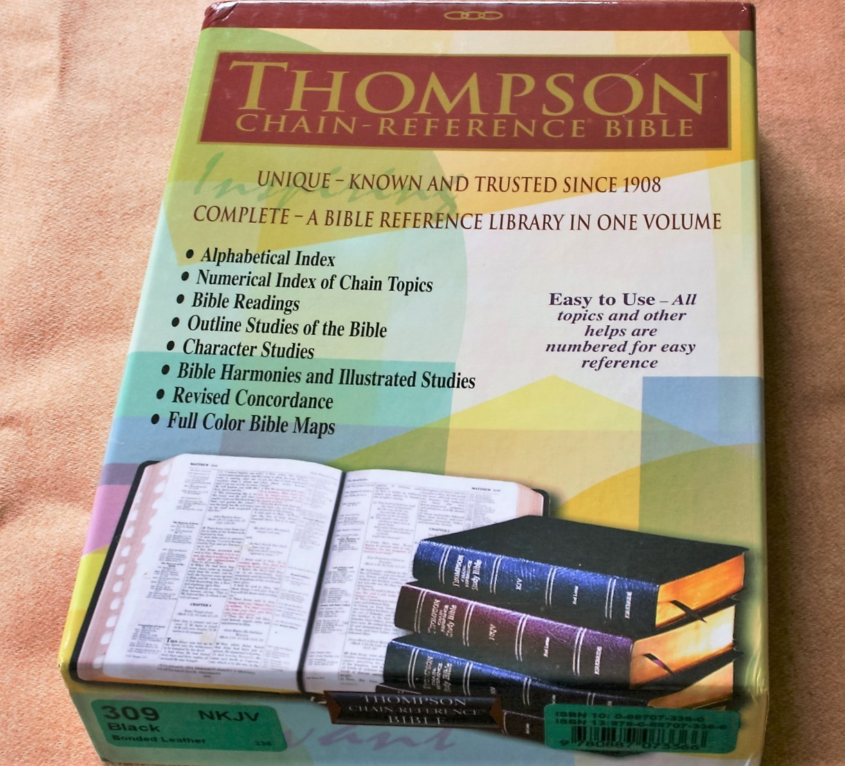 Bible Study Reference: Kirkbride NKJV Thompson Chain Reference Bible Review