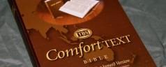TBS Comfort Text Bible – Review