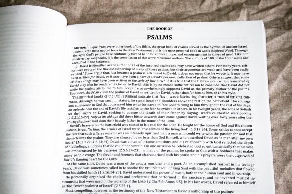 The Preacher's Outline & Sermon Bible - Psalms Part 2 (5)