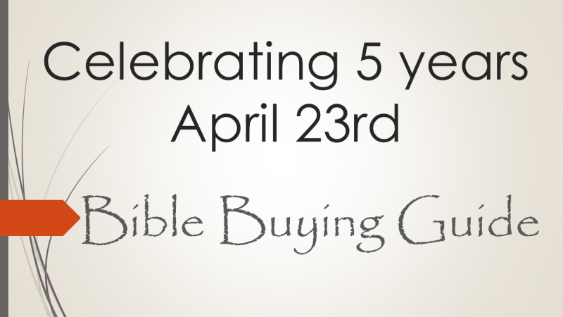 Celebrating 5 years April 23rd