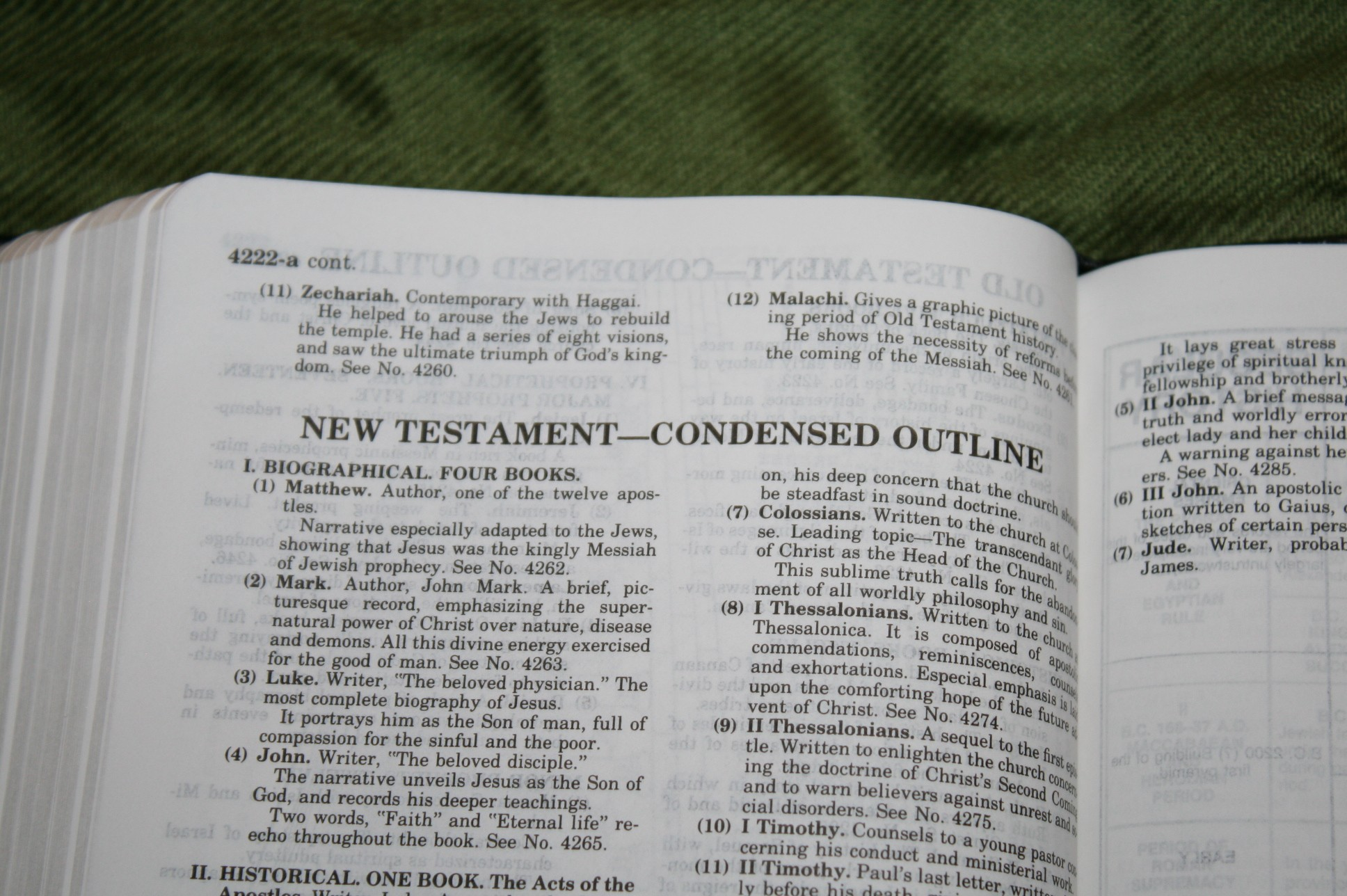 Handy Size Thompson Chain Reference Bible KJV (169)