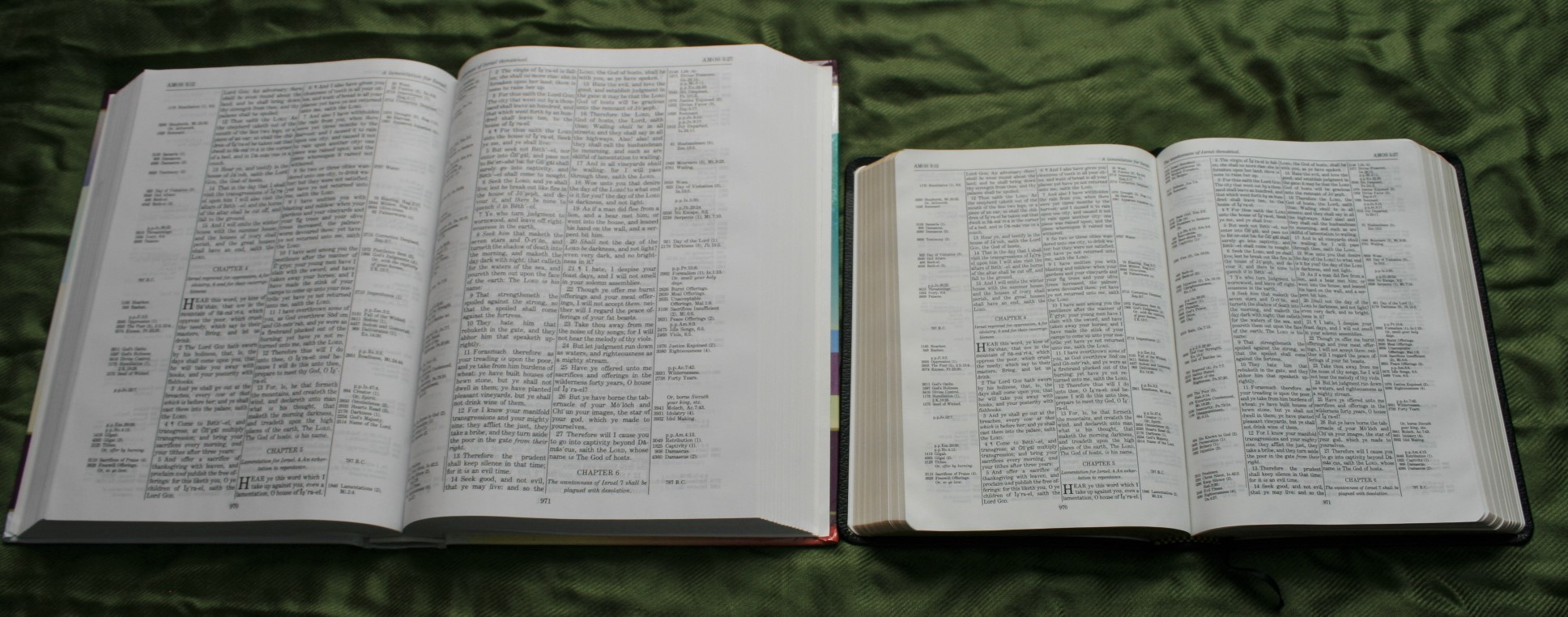 Handy Size Thompson Chain Reference Bible KJV (28)