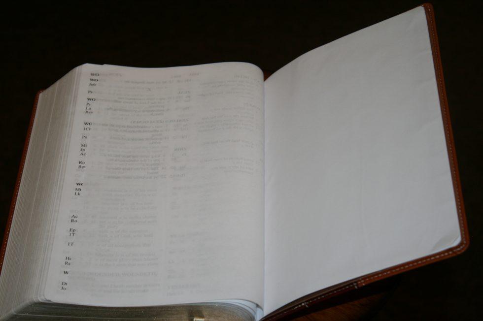 Zondervan Thinline Large Print KJV (99)