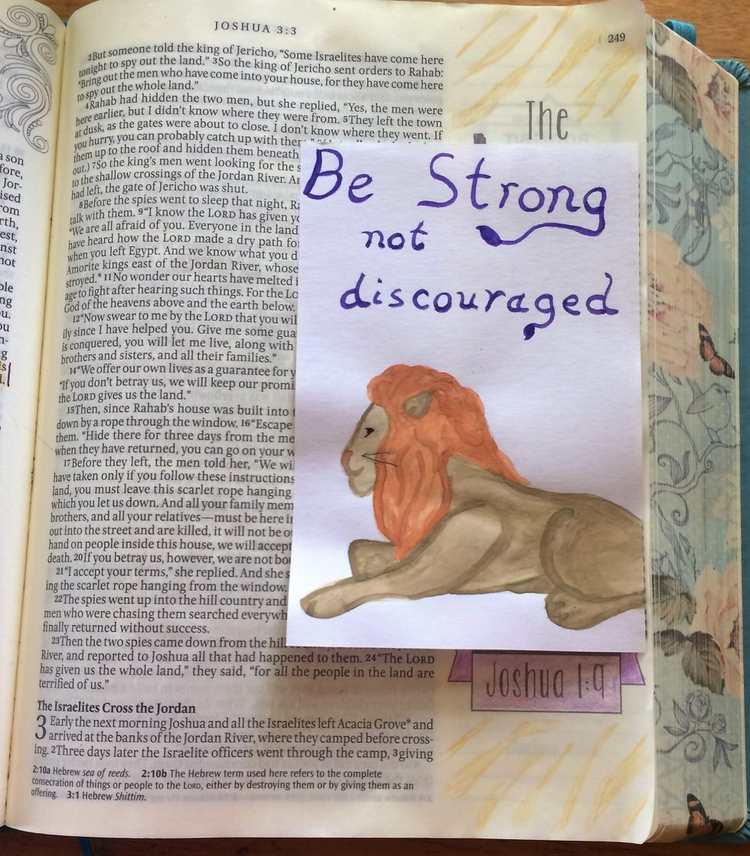 Bible Journaling Joshua 1 (10)